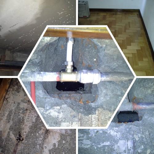 portfolio 1/2  - Deteção e reparação de fuga de água