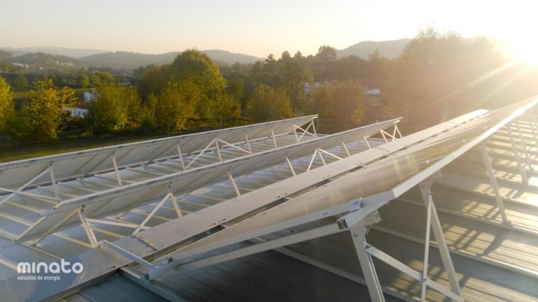 portfolio 37/41  - Solar Térmico, Radiadores e Caldeira