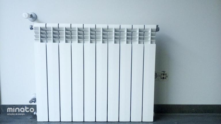 portfolio 33/41  - Solar Térmico, Radiadores e Caldeira