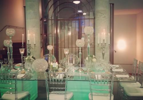 portfolio 13/22  - Mobiliário iluminado, centros de mesa