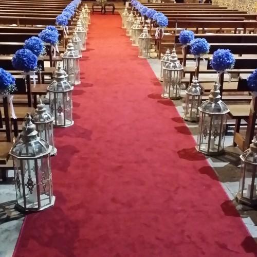 portfolio 16/22  - Corredor cerimónia igreja