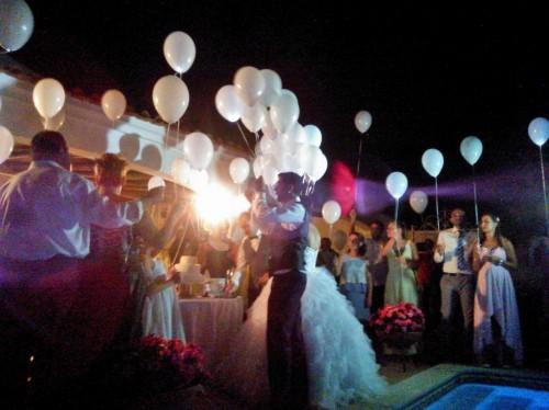 portfolio 3/9  - Largada de balões com leds