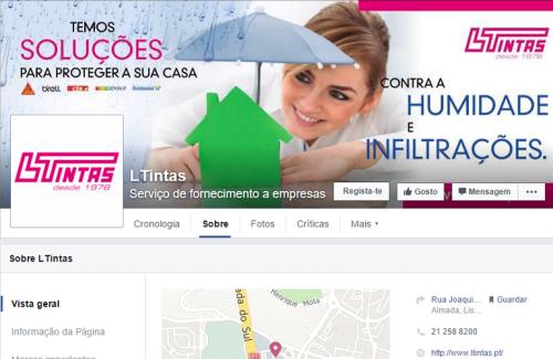 portfolio 3/4  - LTintas - Social Media