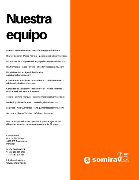 portfolio 40/47  - Catálogo de empresa contra-capa