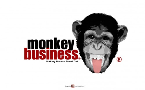 portfolio 26/41  - Logotipo Monkey Business - UK