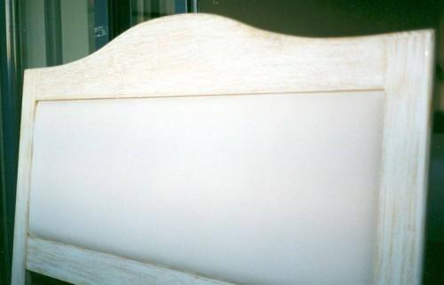 portfolio 26/37  - Cabeceira cama decapé, interior estufado