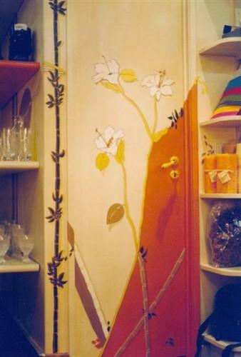portfolio 14/37  - Porta, motivos de flores