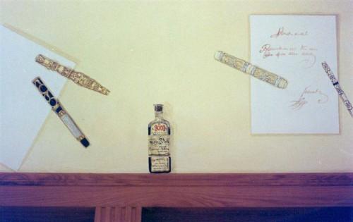 portfolio 5/37  - Sanca pintada (coleção de canetas particular)