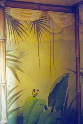 portfolio 35/37  - Parede hall,  motivo equatorial