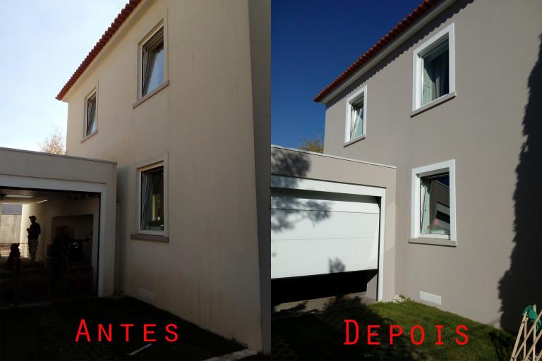 portfolio 68/119  - Reparação e pintura exterior de moradia com materiais da Cin