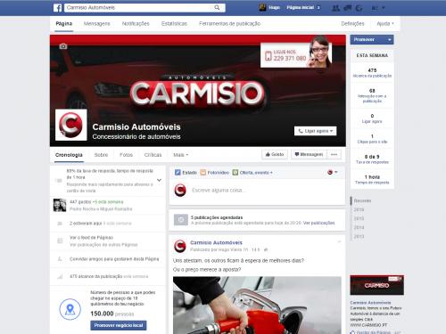 portfolio 3/3  - https://www.facebook.com/carmisioautomoveis/