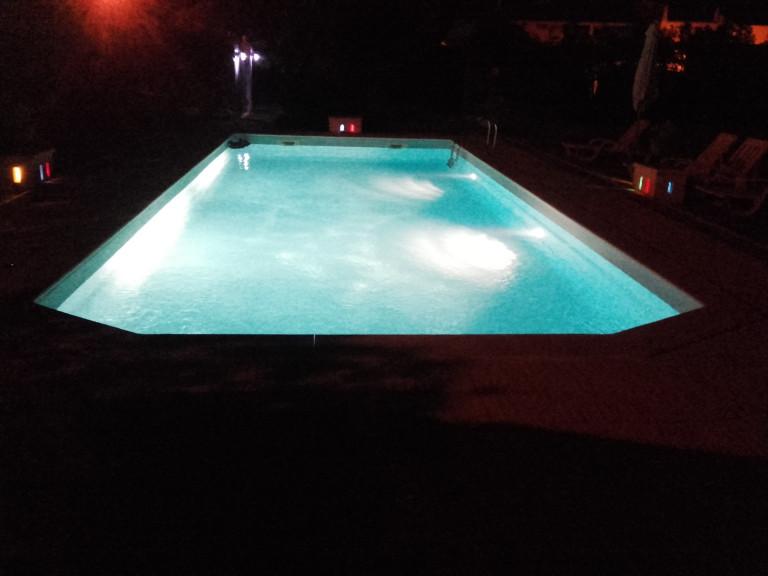 portfolio 5/7  - iluminação piscinas a led