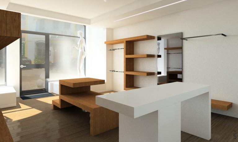 portfolio 4/4  - Remodelação de um loja de vestuário - Sintra
