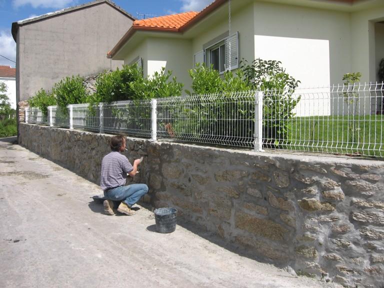 portfolio 16/21  - reconstrução de muro