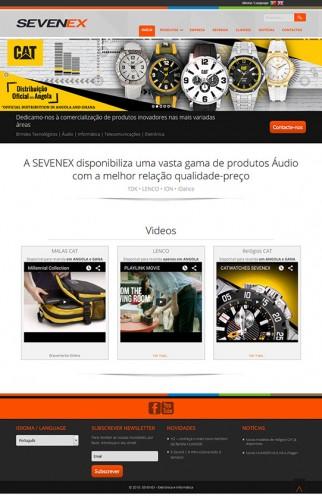 portfolio 7/17  - Webdesign - WordPress - sevenex.co.ao