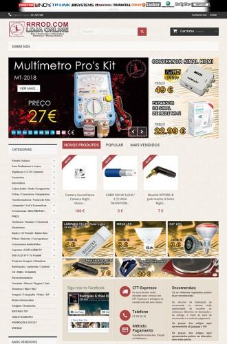 portfolio 5/17  - Webdesign - Prestashop - rrrod.com