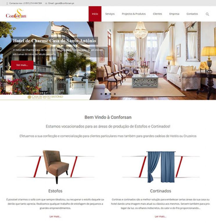portfolio 2/17  - Webdesign - WordPress - conforsan.pt