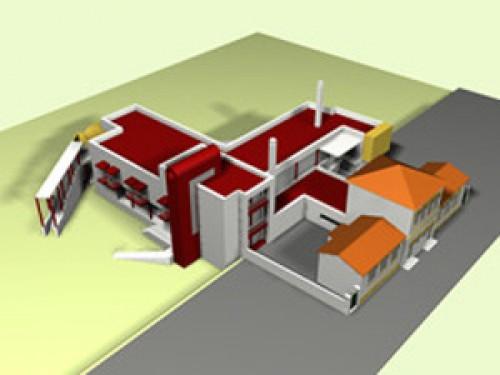 portfolio 14/17  - Modelação 3D Urbanístico