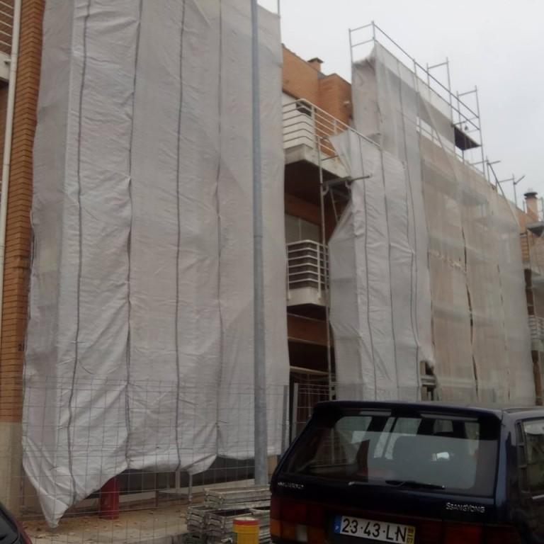 portfolio 4/20  - Reabilitação de fachada | tijolo face à vista