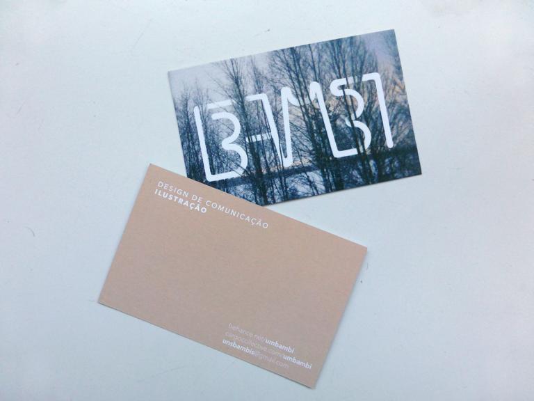 portfolio 1/11  - Cartão de Visita