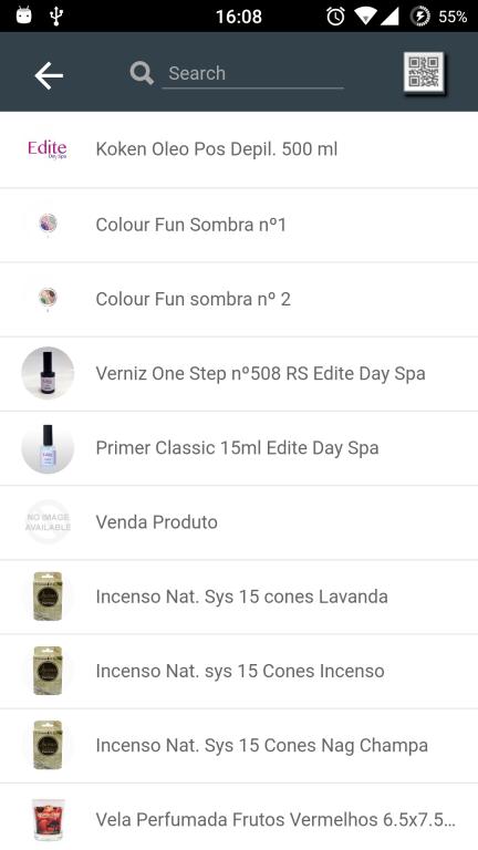 portfolio 2/10  - Aplicação Mobile que permite enviar fotos instantâneo para um produto especifico e aparecer na loja online do cliente.