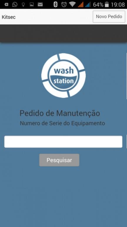 portfolio 8/10  - Aplicação Mobile com objetivo dos clientes pedir assistência.