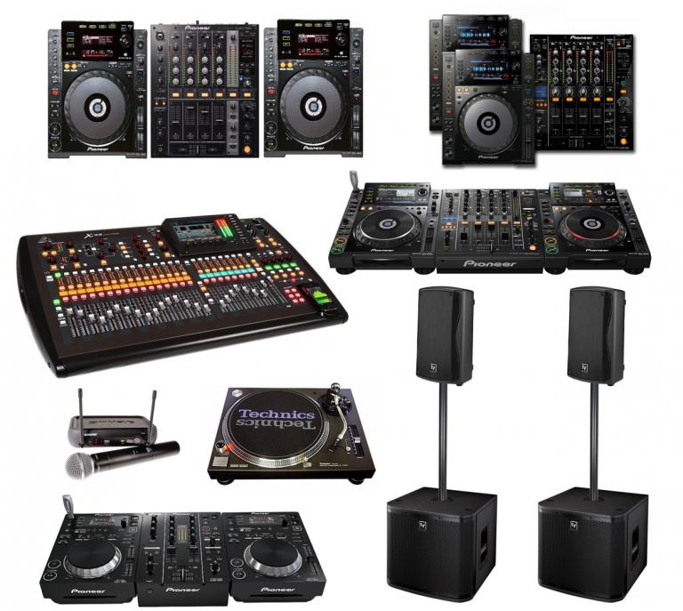 portfolio 4/10  - Aluguer de equipamento DJ