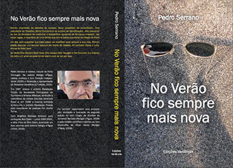 """portfolio 8/14  - Design de Capa para o livro """"No Verão fico sempre mais nova"""" do autor Pedro Serrano"""
