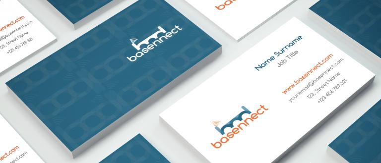 portfolio 5/14  - Branding Design para a startup grega Basennect