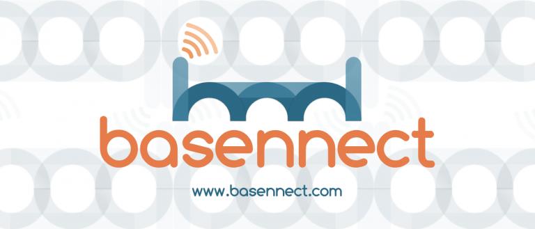 portfolio 6/14  - Design da imagem de capa do facebook para a startup grega Basennect