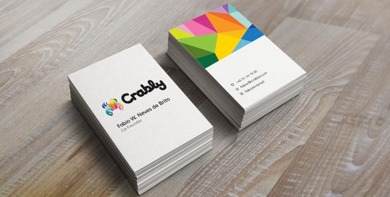 portfolio 2/14  - Branding Design para a startup dinamarquesa Crably