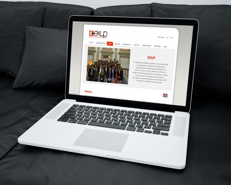 portfolio 6/19  - Website do EXUP