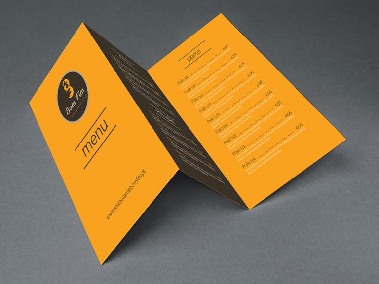 portfolio 3/19  - Design Gráfico de Ementa
