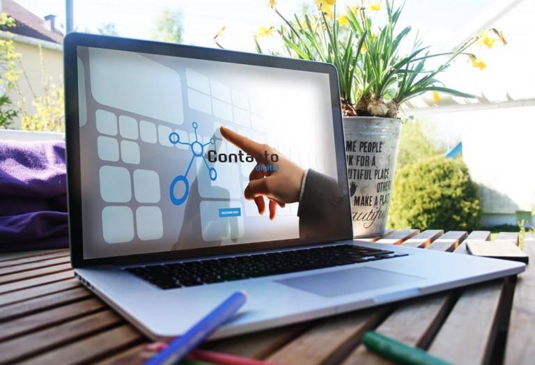 portfolio 4/19  - Website para a empresa Contacto Digital