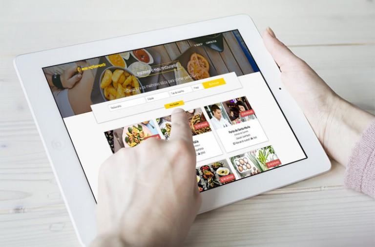 portfolio 12/19  - Aplicação Mobile - O meu restaurante.pt