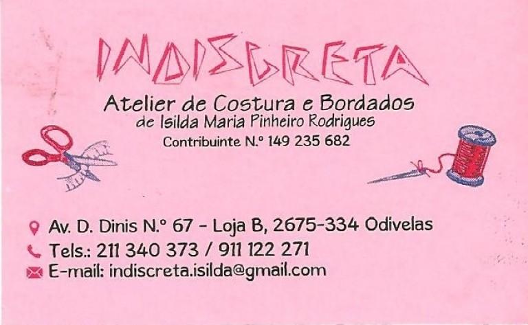 portfolio 16/19  - Cliente ESTRATÉGIA CERTA na area de Arranjos de Costura e Bordados