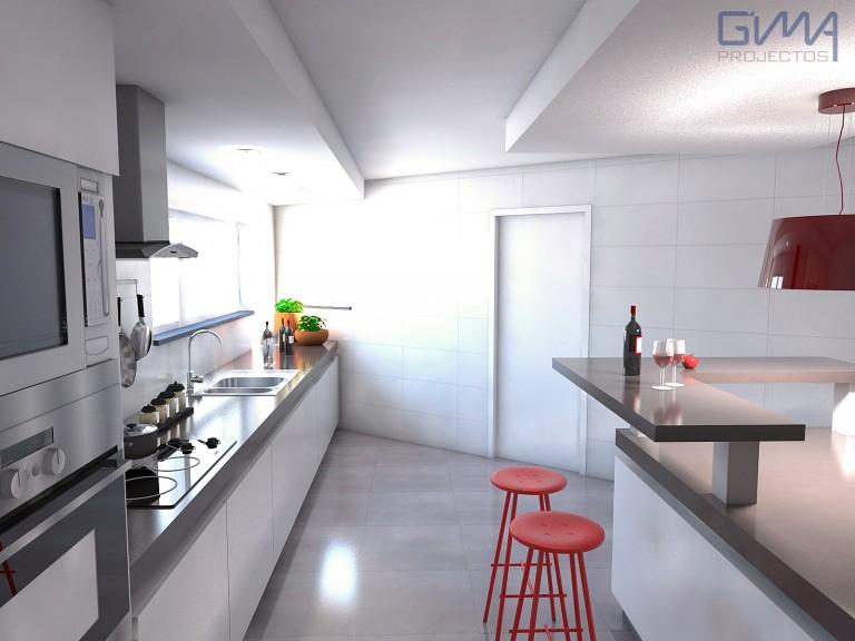 portfolio 8/17  - Leiria - Remodelação de Cozinha