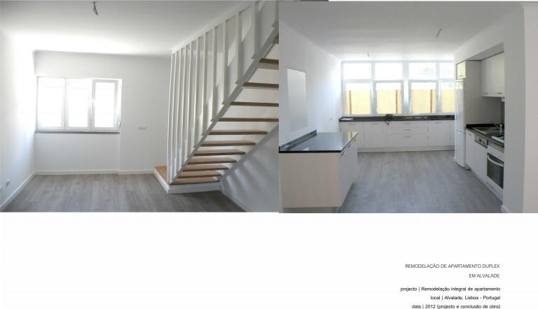 portfolio 1/17  - Lisboa - Reabilitação de apartamento