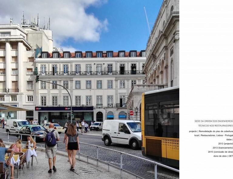 portfolio 10/17  - Sede da OET - Lisboa - Reabilitação do Piso da Cobertura