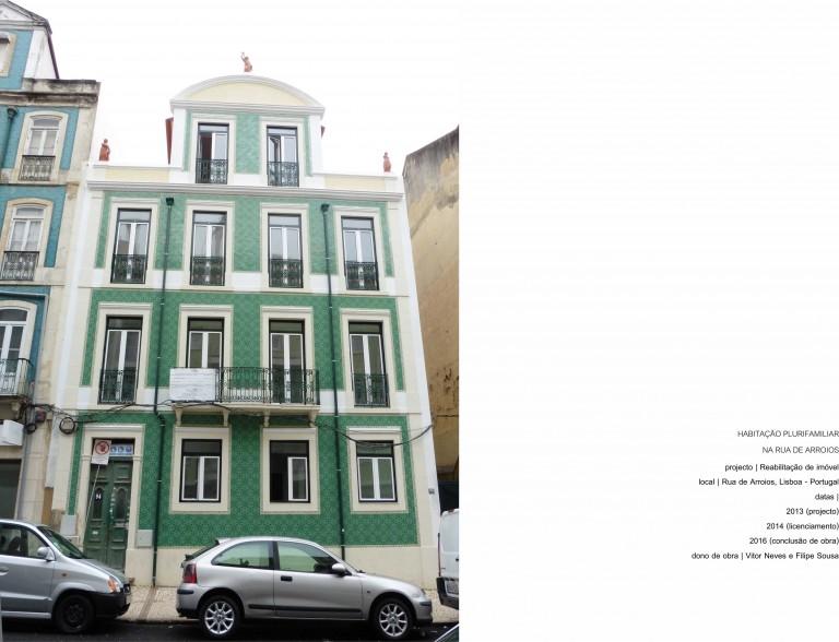 portfolio 4/17  - Lisboa - Reabilitação de Imóvel