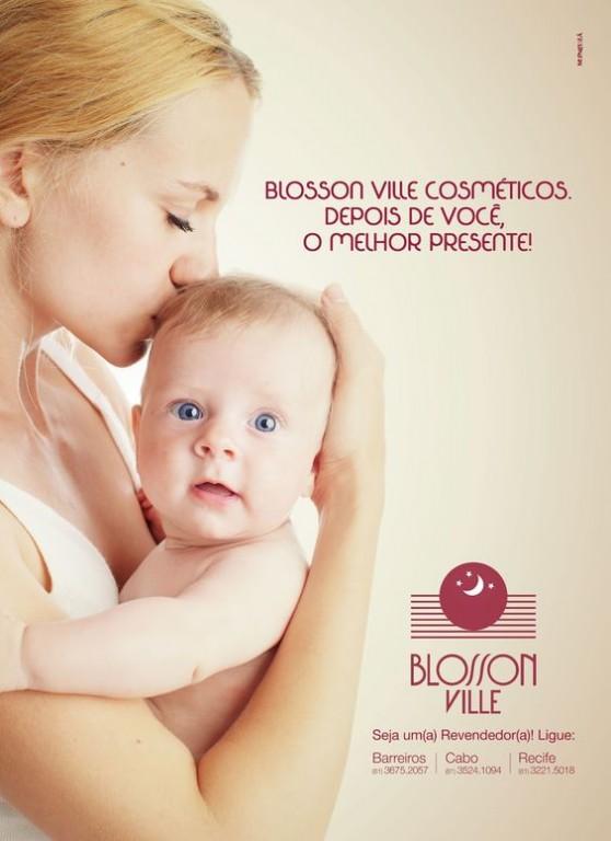 portfolio 6/28  - Anúncio revista - Blosson Ville