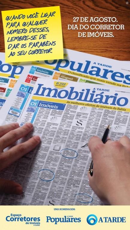 portfolio 8/28  - Anúncio Jornal A Tarde