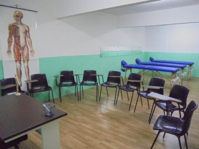 portfolio 3/4  - Sala de teóricas e práticas