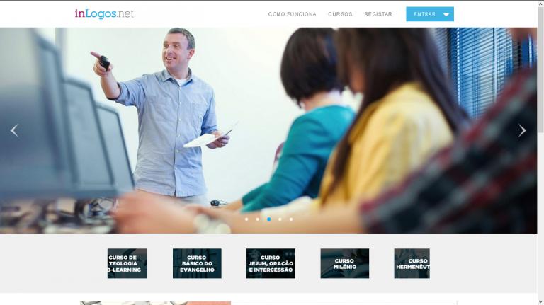 portfolio 3/7  - Website Desenvolvido para a Empresa - inlogos.net