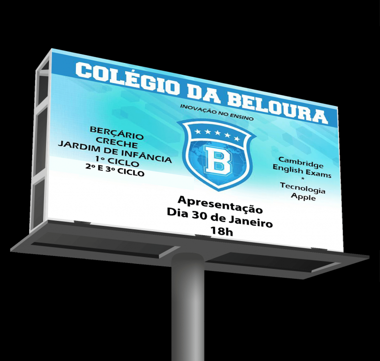 portfolio 13/16  - Colégio da Beloura - Outdoor1