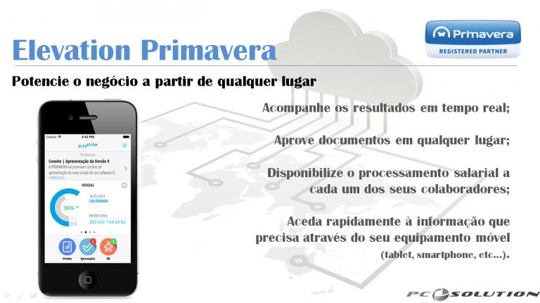 portfolio 3/7  - Software Primavera ERP