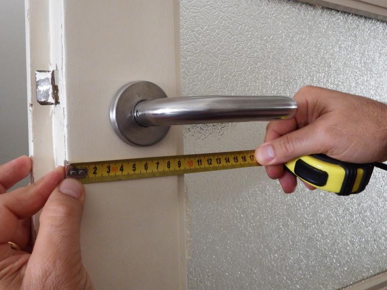 portfolio 3/20  - Troca de fechaduras interiores