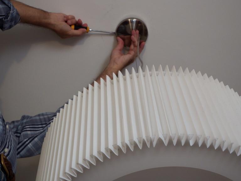 portfolio 19/20  - Fixação de um candeeiro no tecto