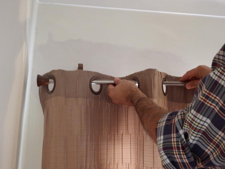 portfolio 17/20  - Montagem de varão de cortinado
