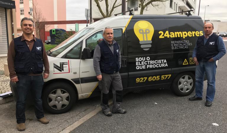 portfolio 1/2  - A nossa equipa de electricistas credenciados.